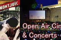 Open Air Concerts & Cinema in Barcelona