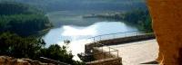 Lake & at Castle Castellet i la Gornal