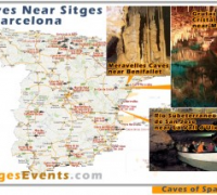 Caves around Sitges & Barcelona