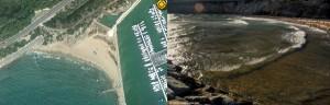 Ginesta Cove beach