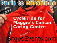 Paris to Barcelona cycle ride for Maggie's Cancer Caring Centre