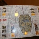 Map : Roman Ruins of Barcino the original Barcelona