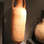 Roman Urns :Roman Ruins of Barcino the original Barcelona