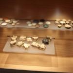 Roman Games Pieces :Roman Ruins of Barcino the original Barcelona