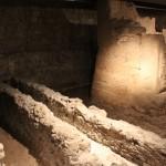 Roman Gutters Drainage :Roman Ruins of Barcino the original Barcelona