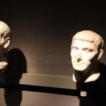 Roman  Bust :Roman Ruins of Barcino the original Barcelona