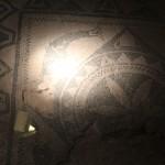 Mosiac :Roman Ruins of Barcino the original Barcelona