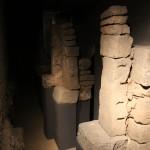 Roman Arch :Roman Ruins of Barcino the original Barcelona