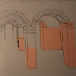 Roman Arches Diagram :Roman Ruins of Barcino the original Barcelona