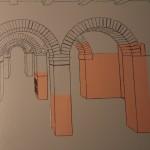 Roman Arches Diagram :Roman Ruins of Barcino the original Barcelona