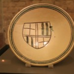 Roman Plate :Roman Ruins of Barcino the original Barcelona