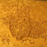 Model of Roman Barcino :Roman Ruins of Barcino the original Barcelona