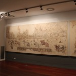 Romain Plaster Fresco  :Roman Ruins of Barcino the original Barcelona