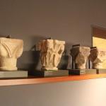 Roman Plinths :Roman Ruins of Barcino the original Barcelona