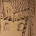 Diagram :Roman Ruins of Barcino the original Barcelona