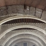Roman Arches : Roman Ruins of Barcino the original Barcelona
