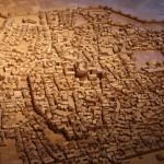 Roman Model :Roman Ruins of Barcino the original Barcelona