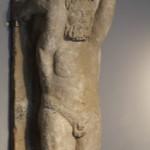 Roman Staue :Roman Ruins of Barcino the original Barcelona