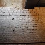 Roman Walls :Roman Ruins of Barcino the original Barcelona