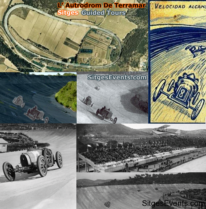 Autódromo de Terramar: Historic Grand Prix Racetrack in Sitges, Catalunya, near Barcelona, Spain